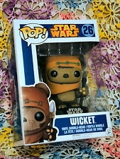Star Wars Ewok Wicket Pop! Vinyl Bobble Head #26