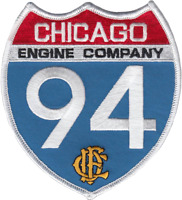 CHICAGO FIRE DEPARTMENT HOUSE PATCH: Engine 94, Interstate 94