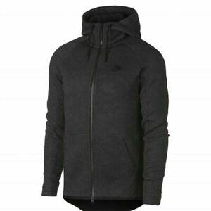 Nike Tech Fleece Jacquard Gray Jacket Full Zip Hoodie 863814-038   Men's S Small