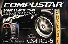 NEW Compustar CS4102-S 2-Way Remote Start System CS4102S