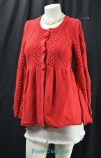 INC International Concepts cadigan rounded neck button Sweater coat shrug Size M