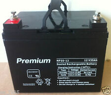 35AH 12V AGM deep cycle battery for scooter, golf buggy, solar, camping