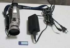 Sony Handycam DCR-TRV20 Mini DV Camcorder ~ w/Memory Stick, Battery + More