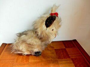 Vintage Merrythought Yorkshire Terrier Dog Stuffed Animal 1950s Ironbridge Used