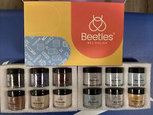 Beetles 12 Colors Dip Powder Nail Kit Starter Set Professional Dipping
