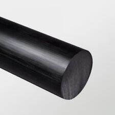 HDPE Rod Black 30mm Diameter x 245mm Long High Density Polyethylene Bar