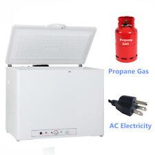 Smad Propane Fridge Freezer Chest Freezer Ac / Gas 7.1 Cu Ft Home Cabin Vehicle