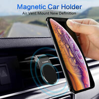 Magnetic Car Auto Phone Holder L Shape Clip Air Vent Mount For Cell Phone GPS