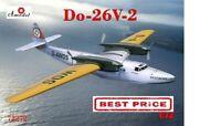 Amodel 72272 German Naval Reconnaissance Dornier Do-26V-2 Scale Plastic Kit 1/72