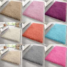 SHAGGY RUG 50mm HIGH PILE SMALL XLARGE THICK SOFT AREA LIVING ROOM FLOOR BEDROOM