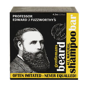Professor Fuzzworthy's Beard SHAMPOO Natural Oils Beauty and the Bees Tasmania