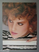 R&L Ex-Mag Advert: L'Oreal Retro Hairstyle, Makeup