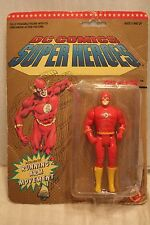 DC COMICS SUPER HEROES THE FLASH WITH RUNNING ARM MOVEMENT ACTION FIGURE 1990