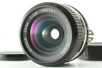 [N Mint] Nikon Nikkor 28mm F2.8 Ai-s Wide Angle MF Lens Camera Ai From Japan a69