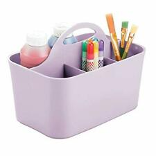 mDesign Art Supplies Organiser – Practical Plastic Arts and Crafts Storage Box