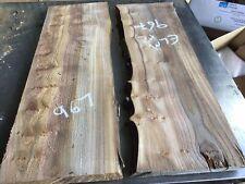 Elm Planks X2,elm Planks,river Table Blanks,rustic Planks