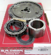 GM LS3 6.0L 2006, L92 6.2L 2007 SA Gear Single Billet Steel Timing Chain Set