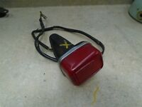 Yamaha 250 Trials TY TY250-A Used Tail Light Lamp Unit Assembly 1974 #YB223
