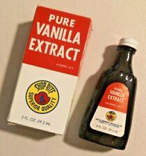 Vintage 1973 Shop-rite Pure Vanilla Extract Rare NOS -- 2370