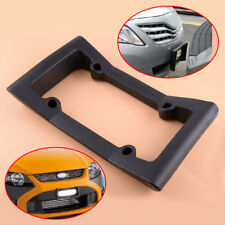 Car Auto Black Front Bumper Guard EVA License Plate Frame Tag Cover Protector