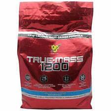 BSN TRUE MASS 1200 10.25LB BAG DISCOUNTED MASS GAINER 1200 CALORIE LOW PRICE NEW