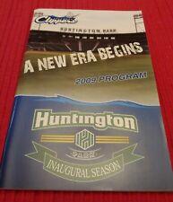 2009 Columbus Clippers Minor League Baseball Program  (No Inserts)