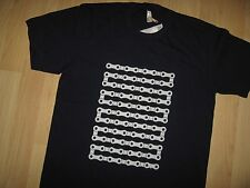 Bicycle Chain Tee - EzyLee RedBubble Cycle Ridger Cyclist Blue NEW T Shirt Med