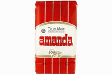 1kg Yerba Mate Amanda Roja Con Palos Free Delivery