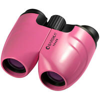 Barska 10x25 Pink Blueline Binoculars w/ Carry Case & Neck Strap, CO11370
