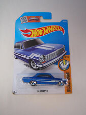 HOT WHEELS 1963 CHEVY II 63 #128/250 HW MUSCLE MANIA 8/10