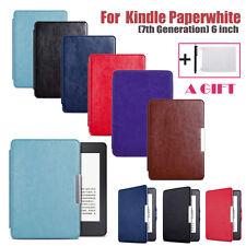 Ultra Slim PU Leather Case Cover For Amazon Kindle Paperwhite 2016 Sleep/Wake