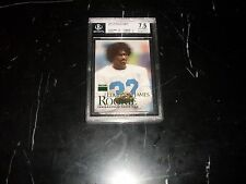Edgerrin James 1999 Skybox Premium Rookie BGS 7.5