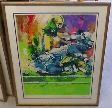 Pile Up By Wayland Moore FRAMED LIMITED EDITION SIGNED SERIGRAPH *RARE* Football