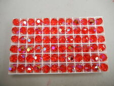 24 swarovski vintage crystal beads,10mm light siam AB #5000