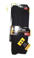 Under Armour men's Black Cold Gear  boot socks  M