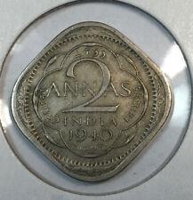 INDIA 1940 2 Annas