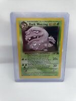 1995 Pokemon Dark Weezing 1st Edition Holo Team Rocket Card. 14/82