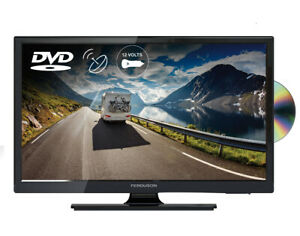 "FERGUSON 19"" inch 12v volt TV DVD TRAVELLER TV CARAVAN TV FREEVIEW HD SAT"