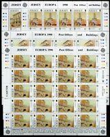 Jersey Kleinbogensatz MiNr. 508-11 postfrisch MNH Cept 1990 (CB726