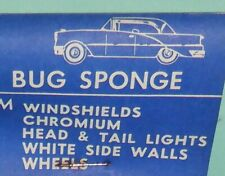 Vintage NOS 1950s original auto bug sponge ford chevy mopar rat hot rod porsche