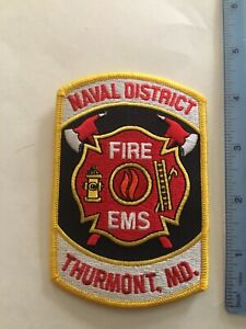 US Naval District Thurnmont Camp David Fire Department