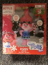 Troll Lighted Inflatable Poppy w/ Candy Cane Christmas Airblown Yard Decor