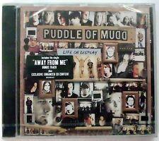 PUDDLE OF MUDD LIFE ON DISPLAY + BONUS TRACK CD SEALED