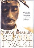 TUPAC SHAKUR: BEFORE I WAKE (DVD, 2002) 2PAC New