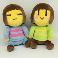 2pcs/lot 20cm Undertale Chara & Frisk Stuffed Plush Toys Doll  Undertale Plush