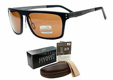 SERENGETI FERRARA SUNGLASSES BLACK GUN POLARIZED PHOTOCHROMIC PhD DRIVERS 7894