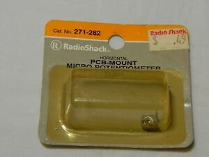 RADIO SHACK PCB-MOUNT HORIZONTAL MICRO POTENTIOMETER 271-282