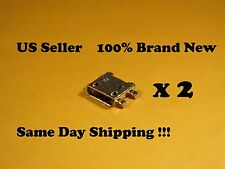 2 x Samsung Galaxy Light SGH-T399 USB Charging Port Connector US s4m