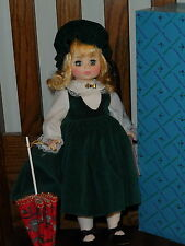 """BELLOWS ANNE by Madame Alexander with Japanese Parasol MIB 14"""""""
