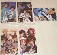 Anime Code Geass sticker decal set 5 pcs. set from Japan new Codegeass stickers